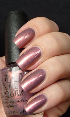 OPI Merryberry Mauve now that's an updated shade this old gal could wear
