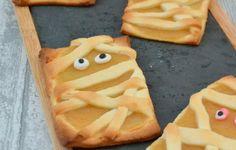 Mummy apple pie - recette Halloween