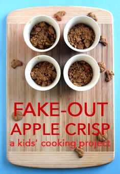 Fake-out apple crisp