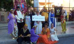 Grupo festeros Trinitario-Berberisco en Jumilla 2013