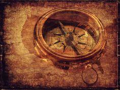 Textúry, Pozadia, Kompas, Smer