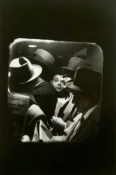 "Photo by Louis Stettner, ""Odd Man In, Penn Station,"" 1958"