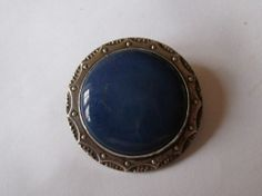 RARE! Genuine Signed Arts  Crafts RUSKIN Pottery Brooch SOLD!