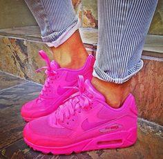 air max 90 pink shoes