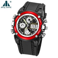 ALIKE Luxury Brand Men Women Sports Watches Digital LED Military Watch Waterproof Outdoor Casual Wristwatches Relogio Masculino