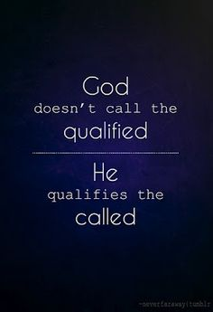 Praise The Lord! Although I am not adequate, I can do all things through Christ who strengthens me!!!