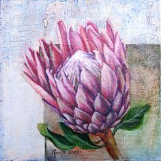 SA artist R. Visage Pastel Paintings, King, Floral, Artist, Flowers, Artists, Royal Icing Flowers, Flower, Flower