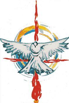 Jesus Christ Images, Jesus Art, Christian Symbols, Christian Art, Catholic Art, Religious Art, Santas Tattoo, Holy Spirit Tattoo, Religion