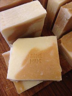 Home made honey soap