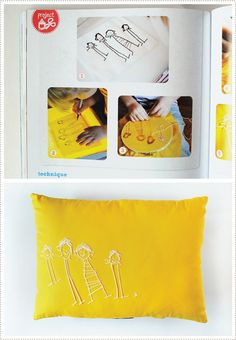 just lovely! it's things like this that makes me look forward to having kids & just spending my days encouraging their creativity :)  (MerMagHandinHand5 by mer mag, via Flickr)