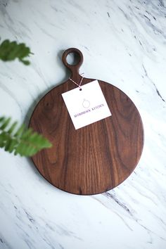 Large Round Wood Wal