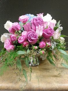 Pink purple and white flowers arrangements for wedding and events pink purple and white flowers arrangements for wedding and events my flower arrangements pinterest white flowers flower shops and dahlia mightylinksfo