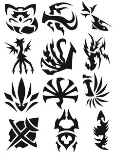 Symbols 10 by Egyptian Symbols, Ancient Symbols, Viking Symbols, Viking Runes, Cool Symbols, Magic Symbols, Body Art Tattoos, Tribal Tattoos, Indian Tattoos