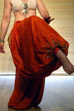 Tribal Pantaloons - Harem Pants - Silk Bloomers