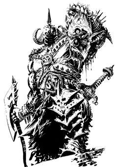 Death Dealer - Frazetta tribute by francesco-biagini on DeviantArt Frank Frazetta, Black And White Sketches, Black White Art, Viking Warrior Tattoos, Angel Devil Tattoo, Dungeons And Dragons Art, Sword And Sorcery, Fantasy Warrior, Pencil Art Drawings
