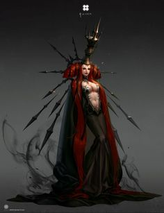 The artist turns the chess pieces into cool characters from fantasy worlds Dark Fantasy Art, Fantasy Girl, Dark Art, Fantasy Queen, Fantasy Character Design, Character Design Inspiration, Character Art, Arte Obscura, Arte Horror