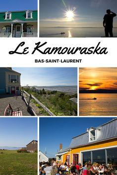 Je pars faire un tournage télé au Bas-Saint-Laurent, précisément dans la région de Kamouraska. Villages panoramique et plaisirs gourmands assurés!