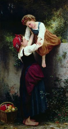 Kleine Plünderer (Little Thieves), 1872 - William-Adolphe Bouguereau