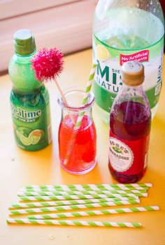Easy cherry limeade recipe (tastes like sonic).