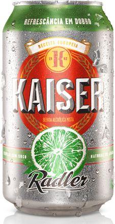 Kaiser Rader, cerveja com suco de limão