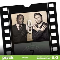 Psych Shawn And Gus, Shawn Spencer, Psych Season 8, Burton Guster, Carlton Lassiter, Psych Tv, Psych Quotes, Blue Ivy Carter, I Know You Know