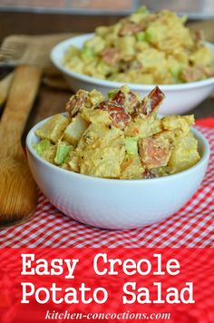 Kitchen Concoctions: Easy Creole Potato Salad