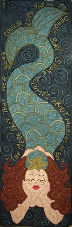 art photography Christine Littles mermaid pattern.wonder if I can find this as an art print to hang as a reminder to her that boys have cooties, and arent worthy of her attention until shes 40 ; Mermaid Fairy, Mermaid Room, Mermaid Tale, Real Mermaids, Mermaids And Mermen, Mark Rothko, Mermaid Quilt, Mermaid Quotes, Mermaid Kisses