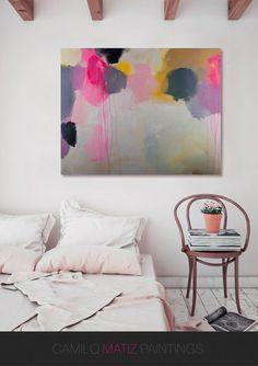 abstrakte Malerei Acryl-Malerei abstrakte von CamiloMatizPaintings