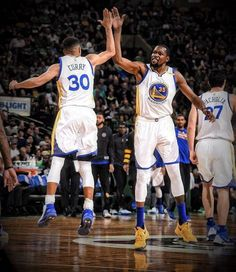 Stephen Curry & Kevin Durant Warriors