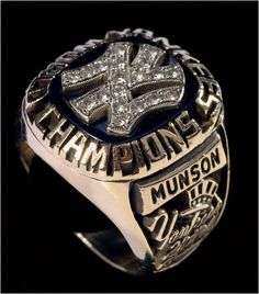 The late Thurman Munster's ring...what a great catcher.