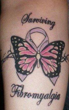 Fibromyalgia awareness tattoo