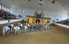 Den andalusiske rideskole i Jerez