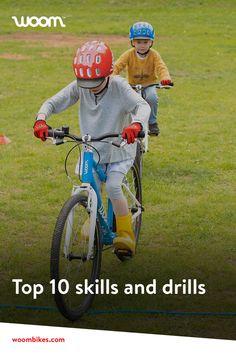 #skills #trainingtools #cycling #woombike Woom Bike, Kids Bike, Tricks, Drill, Cycling, Blog, Fun, Training, Riding Bikes