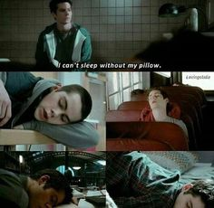 Yet somehow Stiles manages to sleep in school