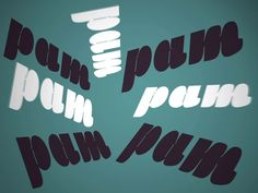 Armstrong Typeface by Leticia Rocha, from vimeo