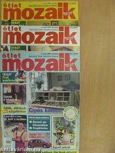 Papp Márió: Ötlet Mozaik 1998. október-december (teljes évfolyam) (Erasmus Press Kiadói Kft., 1998) Tarot, December, Comic Books, Marvel, Comics, Cover, Cartoons, Cartoons, Comic