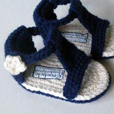Crochet : sandales.