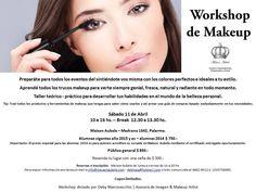 Workshop de Make Up en Maison Aubele. Para más información: info@maisonaubele.com