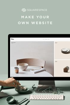 Easily make your own website or online store with Squarespace's do-it-yourself website building tools.