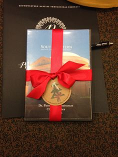 President's Club 2015- This place favor is a DVD of Dr. Patterson's Christmas sermons.