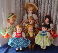 Vtg Madame Alexander Doll Lot Sound of Music