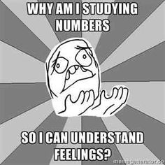 studying numbers to understand feelings. No kidding! Pretty much sums up this…