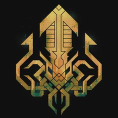 Golden Kraken Sigil