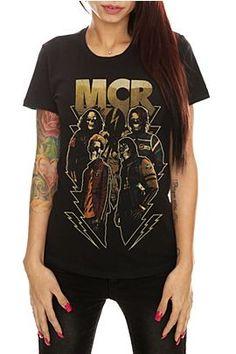 My Chemical Romance Skeleton top
