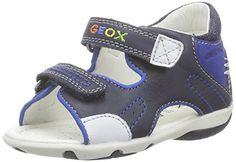 cool GeoxB SANDAL ELBA BOY C - Botines de Senderismo Bebé-Niñas , color Azul, talla 23