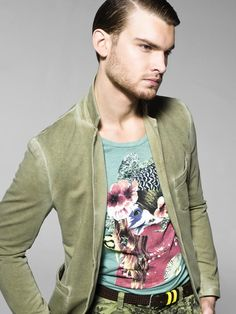 "Spring/Summer 2013 United Colors of Benetton Man collection."" Want the jacket!"