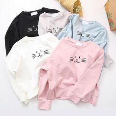 Cute cat sweatershirt · Asian Cute {Kawaii Clothing} · Online Store Powered by Storenvy