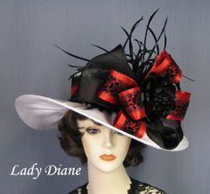 This is the hat I want for the Kenyucky Derby :-)