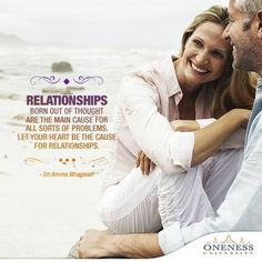 As our #ThoughtOfTheDay tells us, relationships which have a lot of thought put into it ends up creating problems than of a relationship which exists purely because of the heart.