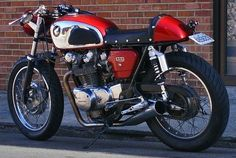 Honda cafe racer motorcycles